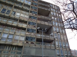 Robin Hood Gardens, East London