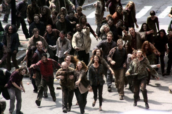 Hoard of zombies