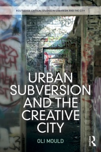 Urban Subversion and the Creative City Paperback cover