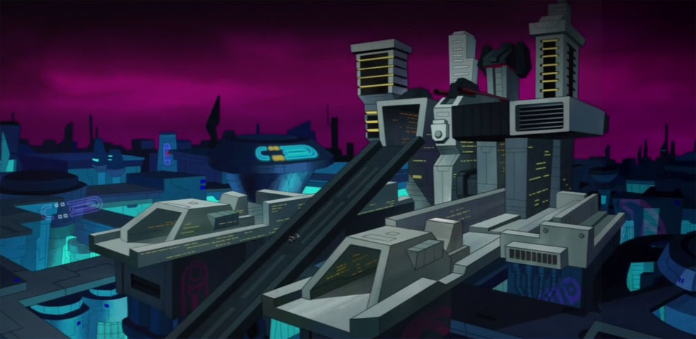 Metroplex, the Transformer City